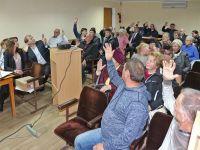 Публичные слушания в администрации города Саки