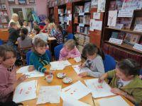 Мастер-класс в Сакской библиотеке