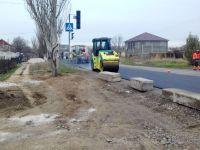 Ремонт на Евпаторийском шоссе, 1 декабря 2016
