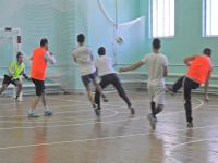 Четвертый тур турнира города Саки по мини-футболу