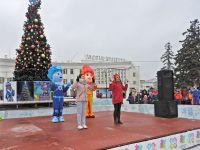 В Саках открылась городская ёлка, 25 декабря 2016