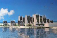 Проект застройки северного берега озера Чокрак
