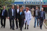 Глава Республики Крым посетил санаторий им. Бурденко, 11 марта 2017