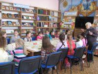 Мастер-класс в сакской городской библиотеке, 29 марта 2017
