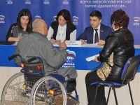 Депутат госдумы провел в Саках личный прием граждан