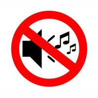 Запрет на громкую музыку и пиротехнику