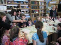 Мастер-класс в сакской городской библиотеке, 9 апреля 2017