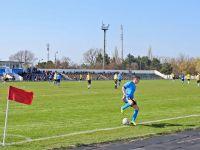 На стадионе «Авангард» прошел футбольный матч, 13 апреля 2017
