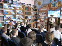 Экологическое путешествие в сакской городской библиотеке