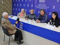 Саки посетила помощник депутата Госсовета Крыма