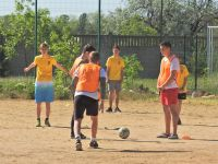 В Саках стартовал турнир по дворовому футболу
