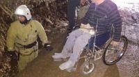 Инвалид-колясочник упал в траншею на Курортной, 22 мая 2017