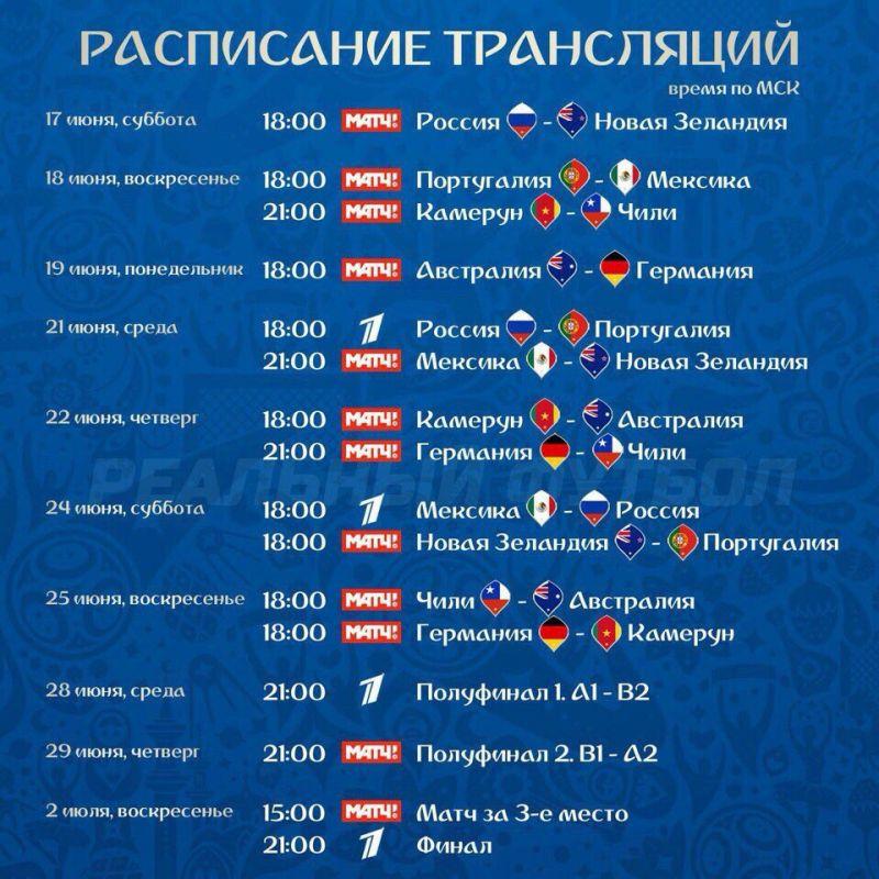 График игр кубка россии по футболу 2016