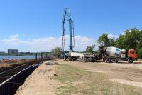 Начато строительство на втором участке набережной, 28 июня 2017