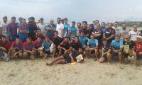 Кубок по пляжному регби в Саках