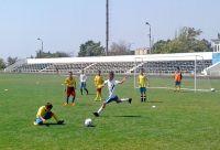В Саках прошел юношеский турнир по футболу