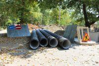 На Курортной стартовали работы по замене канализации