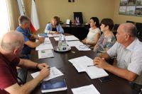 Алла Пашкунова провела совещание в Саках, 18 августа 2017