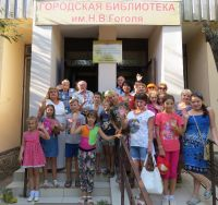Детские писатели в городской библиотеке