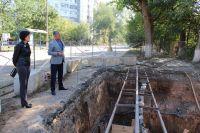 В переулке Береговой идет реконструкция