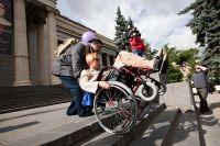 Доступность крымских городов для колясочников, 10 октября 2017