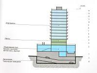 Строительство 50-ти метровой высотки в центре Сак