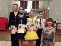Сакчане удачно выступили в конкурсе бального танца