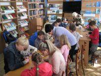 Оригами в городской библиотеке им. Н. В. Гоголя