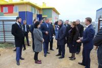 Саки посетил председатель Госсовета Крыма