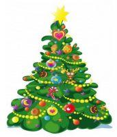 В Саках установили Новогоднюю ёлку