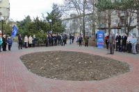 В Саках открыт сквер «Крымской весны», 25 декабря 2017