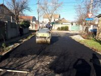 Асфальтирование улицы Тертышного