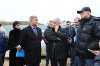 Саки посетил заместитель федерального министра