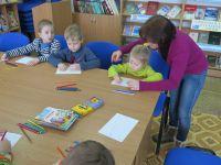 Клуб выходного дня для дошкольников в библиотеке