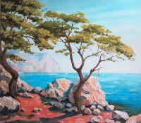 Выставка Анны Червинской в сакском музее