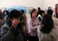 В сакском музее открылись выставки двух художниц