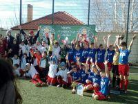 Команда спортшколы заняла 2 место в футбольном турнире