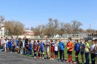 В Саках состоялся Футбольный турнир, 6 апреля 2018