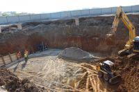 Ход строительства сакских ЛОС идет по графику, 25 апреля 2018