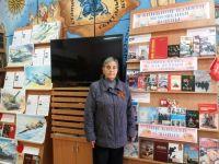В сакской городской библиотеке прошла акция к 9 Мая