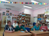 """""""Литературная гостиная"""" в городской библиотеке"""