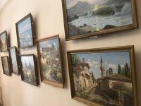 В Саках открылась выставка картин Нури Якубова
