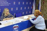 Крымский сенатор провела прием граждан в Саках, 25 мая 2018