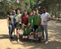В Саках прошел турнир по дворовому футболу
