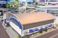 Строительство спорткомплекса в Саках