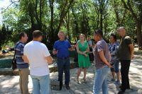 Делегация Никитского ботанического сада в Саках