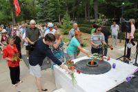 Сакчане почтили память героев Великой Отечественной войны, 22 июня 2018