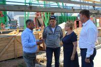 Саки посетила депутат Госдумы Светлана Савченко
