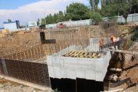 Ход строительства локальных очистных сооружений