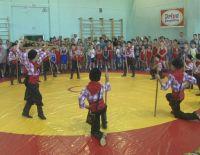 В Саках прошел фестиваль спортивной борьбы «Saq Kuresi»